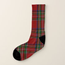 Royal Stewart Plaid Socks