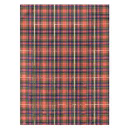 Royal Stewart Scottish Clan Modern Plaid Tartan Tablecloth
