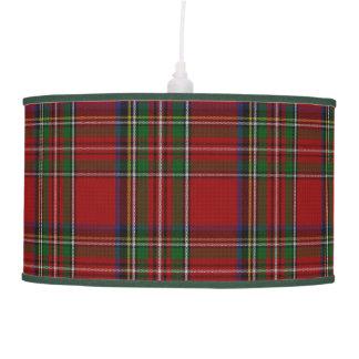 Royal Stewart Scottish Tartan Plaid Hanging Lamp