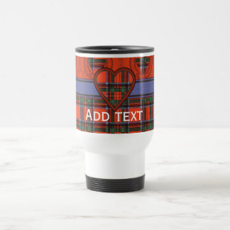 Royal Stewart Scottish tartan Travel Mug