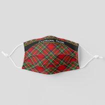 Royal Stewart Tartan Adult Cloth Face Mask