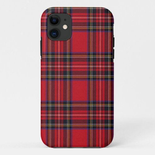 Royal Stewart Tartan Phone Case