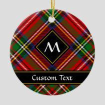 Royal Stewart Tartan Ceramic Ornament