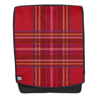Royal Stewart Tartan Christmas Pattern Backpack