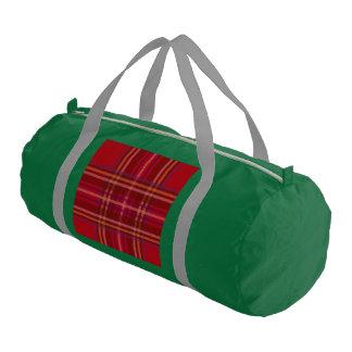 Royal Stewart Tartan Christmas Pattern Gym Bag