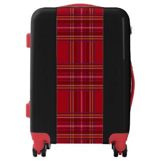 Royal Stewart Tartan Christmas Pattern Luggage