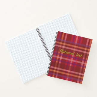 Royal Stewart Tartan Christmas Pattern Notebook