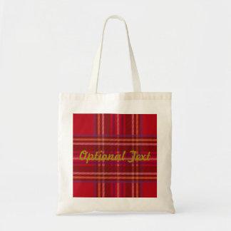 Royal Stewart Tartan Christmas Pattern Tote Bag