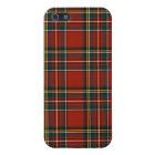 Royal Stewart Tartan Classic Red Scottish Plaid iPhone SE/5/5s Cover