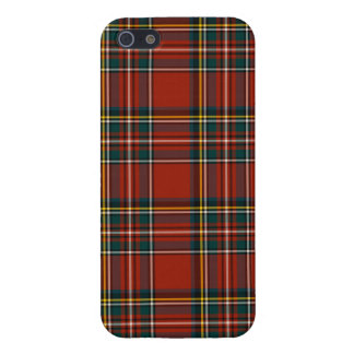 Royal Stewart Tartan Classic Red Scottish Plaid iPhone SE/5/5s Cover