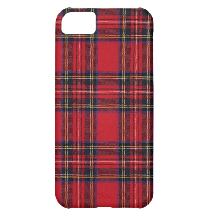 Royal Stewart Tartan Cover For iPhone 5C