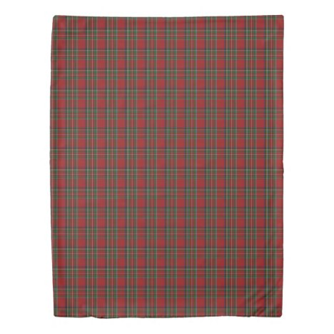 Royal Stewart Tartan Duvet Cover
