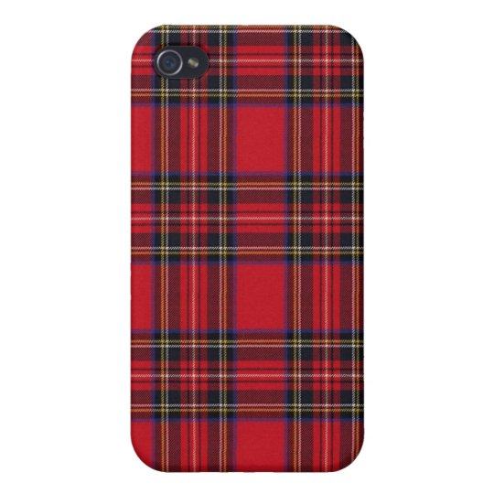 Royal Stewart Tartan iPhone 4/4S Case