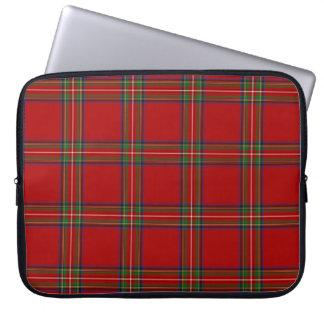 Royal Stewart Tartan Laptop Case