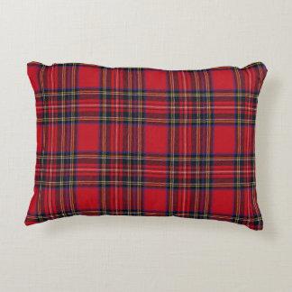 Royal Stewart Tartan Accent Pillow