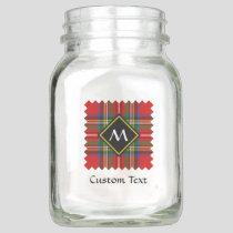Royal Stewart Tartan Mason Jar