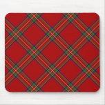 Royal Stewart Tartan Mousepad Mouse Pad