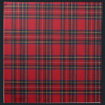 "Royal Stewart Tartan Napkin<br><div class=""desc"">Royal Stewart Tartan Cloth Napkin.The Royal Stewart tartan is the best known tartan of the royal House of Stewart, and is also the personal tartan of Queen Elizabeth II. It is appropriate for all subjects of Elizabeth II to wear the Royal Stewart tartan. Officially, the tartan is worn by the...</div>"