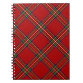 Royal Stewart Tartan Notebook