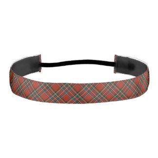 Royal Stewart Tartan Elastic Headbands