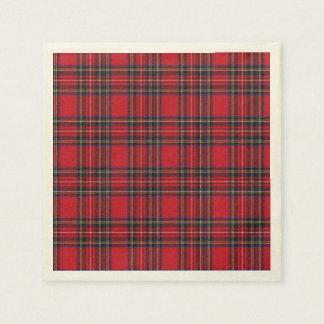 Royal Stewart Tartan Paper Napkin