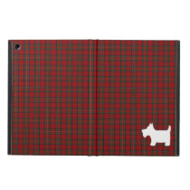 Royal Stewart Tartan Pattern with Scottie Dog Case iPad Air Case