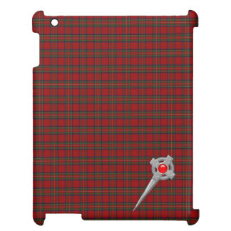 Royal Stewart Tartan Plaid & Celtic Knot Pin Case For The iPad