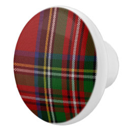 Royal Stewart Tartan Plaid Drawer Pull