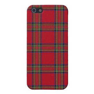 Royal Stewart Tartan Plaid iPhone 5 Case