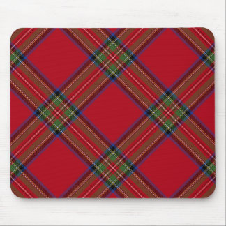 Royal Stewart Tartan Plaid Mouse Pad