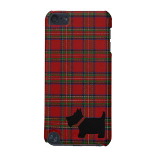 Royal Stewart Tartan Plaid Pattern and Scottie Dog iPod Touch 5G Cover