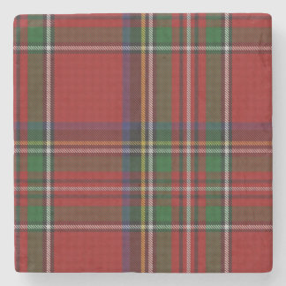 Royal Stewart Tartan Plaid Stone Coaster