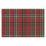 Royal Stewart Tartan Plaid Tissue Paper