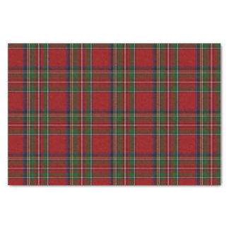 "Royal Stewart Tartan Plaid Tissue Paper 10"" X 15"" Tissue Paper"