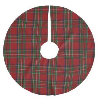 Royal Stewart Tartan Plaid Tree Skirt