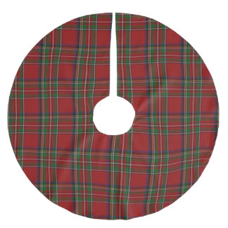 Royal Stewart Tartan Plaid Tree Skirt