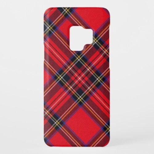 Royal Stewart tartan red and black plaid Phone Case