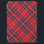 """Royal Stewart tartan red black plaid iPad Air Cover<br><div class=""""desc"""">Royal Stewart clan tartan red black plaid</div>"""
