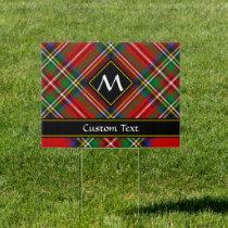 Royal Stewart Tartan Sign