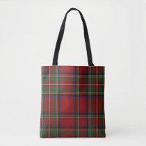 Royal Stewart Tartan Traditional Plaid Pattern Tote Bag