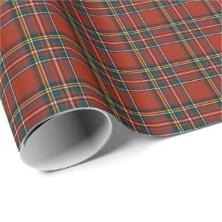 Royal Stewart Tartan Gift Wrap Paper
