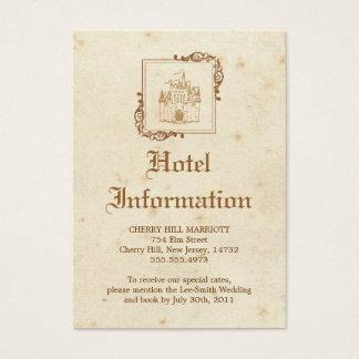 Royal Storybook - Accommodations Card