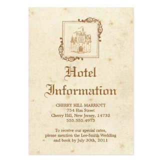 Royal Storybook - Accommodations Card Business Card