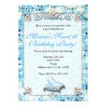 Royal Storybook Cinderella Sweet 16 Invitation