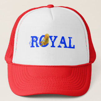 ROYAL STRAWS TRUCKER HAT