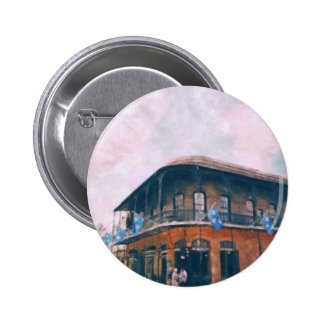 Royal Street at french quarter in new Orleans 2 2 Inch Round Button