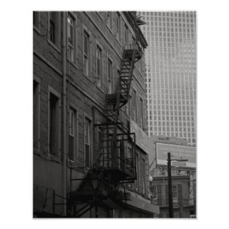 Royal Street Contrasts Photo Print