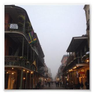Royal Street Fog, New Orleans, Louisiana Photo Print