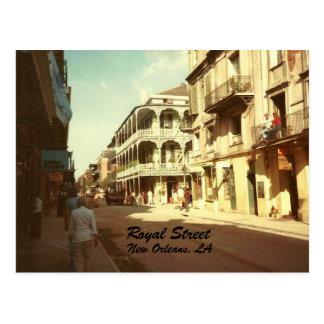 Royal Street, New Orleans, Postcard