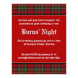 Burns Night Invitations Announcements Zazzle